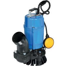 Tsurumi Submersible Sandtrash Water Pump 3660 Gph 1 Hp 3in Port 110v