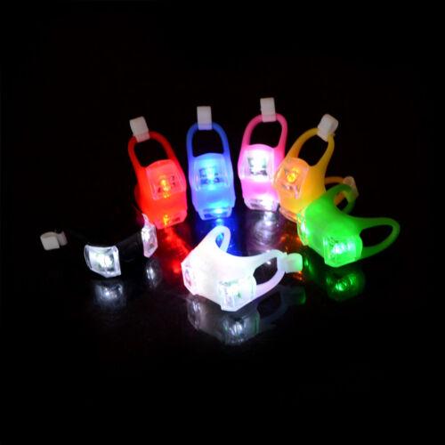 Nacht Silikon Vorsicht Licht Lampe für Baby Kinderwagen Nacht aus-*