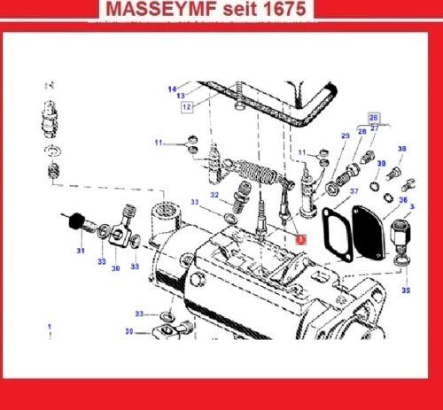 Sonstige Antriebe, Motoren & Getriebe fr Traktoren Hutmutter ...