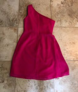 Tommy Hilfiger Final Colorblocked Sleeveless Dress Begonia Pink