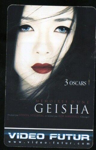 310 VIDEO FUTUR collector  GEISHA