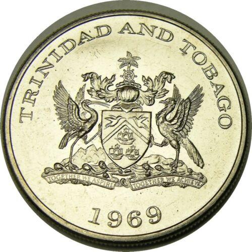 elf Trinidad /& Tobago 1 Dollar 1969 FAO Bird