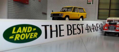 Best 4x4xFar Fenêtre Transparente Decal Autocollant Land Range Rover Classic Defender 90 110