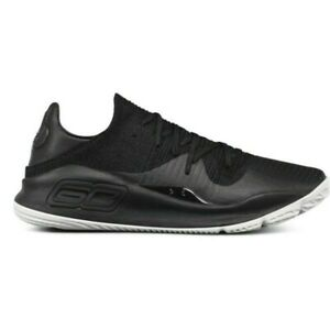UA-CURRY-4-LOW-BASKETBALL-SHOES-MENS-SIZE-12-NEW-3000083-004-BLACK-UNDER-ARMOUR