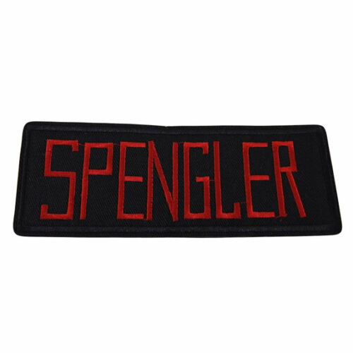 Ghostbusters Movie Spengler Uniform Name Tag Embroidered Patch