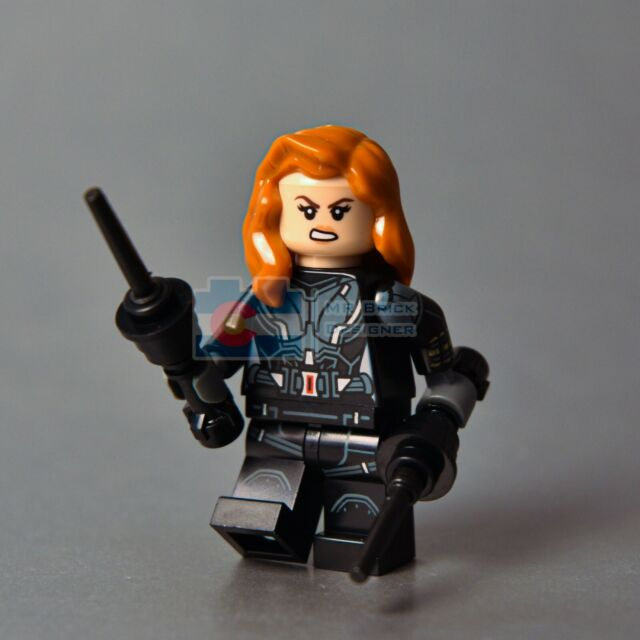 Black Widow Blond Hair NEW 76101 Avenger Infinity War ...