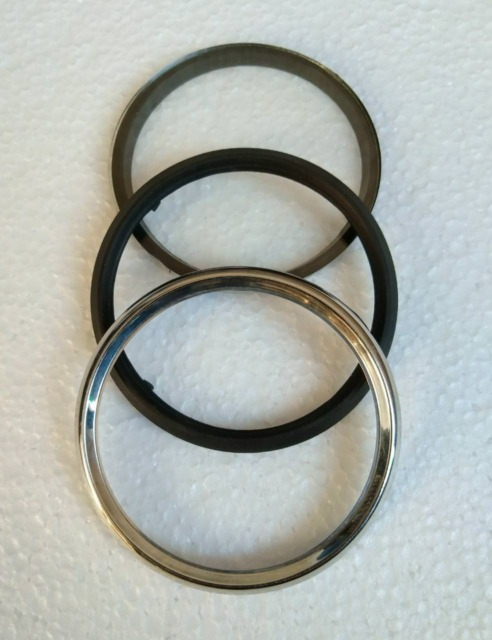 NEW SMITHS REPRODUCED SPEEDOMETER REPLACEMENT BRASS BEZEL RING @USD