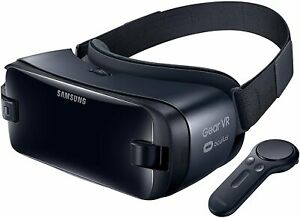 New Samsung Gear Vr Virtual Reality Smartphone Headset W Controller Orchid Gray Ebay