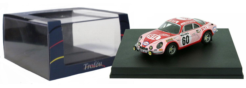 Trofeu 826 ALPINE RENAULT A110 1600 S Monte Carlo 1972-Pat Moss 1/43 SCALA