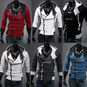 Men-Casual-Slim-Fit-Hoodies-Warm-Jacket-Tops-Sweatshirt-Overcoat-Outwear-L-6XL