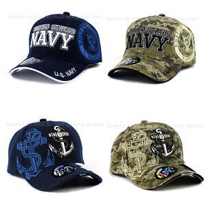 Image is loading U-S-NAVY-hat-Military-NAVY-Official-Licensed-Baseball- c2cf98bd487d