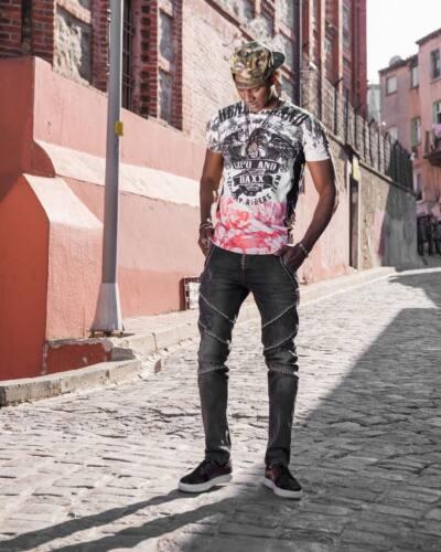 NUOVO Cipo /& Baxx Blade Uomo Jeans Denim cd-452 Slim Fit Tutte Tg