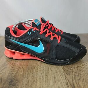 Nike Reax Run Women's Running Athletic Shoes Black Pink Blue Size 9.5