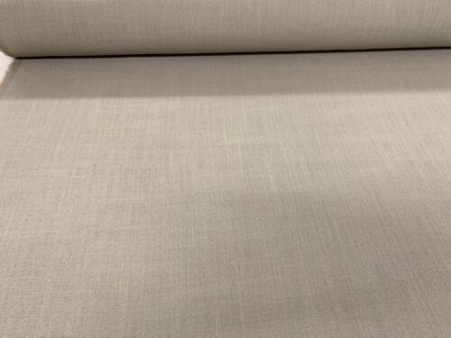 Wiltshire Lino Mezcla Lino llovizna de 140cm de Ancho Cortina//Tela de tapicería