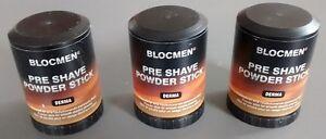 3-X-BLOCMEN-DERMA-PRE-SHAVE-POWDER-STICK-FOR-SENSITIVE-SKIN