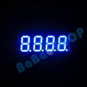 New-0-36-034-0-36-inch-7-Segment-Display-Blue-LED-4-Digit-Common-Anode