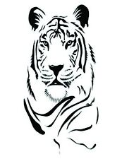 Tiger Head  vinyl wall decal