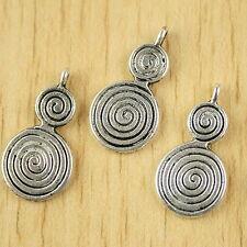 Tibetan Silver 2sided mini Miniature horses design charms 20pcs EF0047