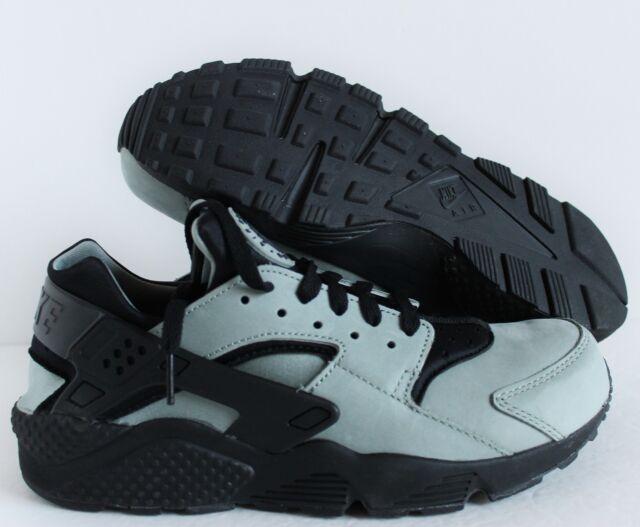 fef07663d53a Nike Air Huarache Run PRM Mica Green Black 704830-301 Premium Size 9 ...