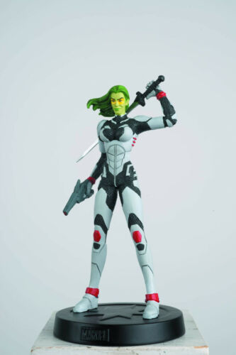 Eaglemoss Marvel Fact Files COSMIC SPECIAL Guardians Gamora Figurine Magazine