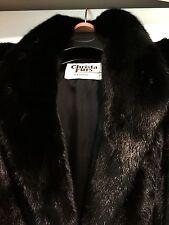 Beautiful Mink fur coat, black,  in a great condition M-L