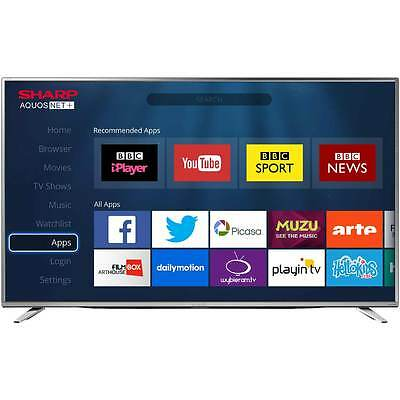"Sharp TV 55"" Smart LED 4K Ultra HD Freeview HD TV"