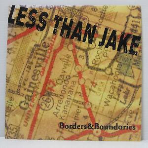 LESS-THAN-JAKE-Borders-amp-Boundaries-LP-2000-US-ORIG-Fat-Wreck-MxPx-NOFX-NUFUN