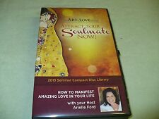 ARIELLE FORD THE ART OF LOVE ATTRACT YOUR SOULMATE NOW 24 CD'S