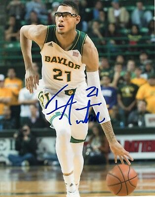 College-ncaa Reasonable Isaiah Austin Signed 8x10 Photo W/coa Baylor Bears Basketball #1 Wide Varieties