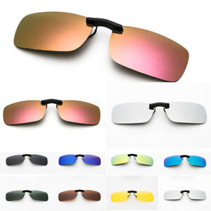 9d9e7b9bcb Image is loading Polarized-Clip-On-Sunglasses-Driving-Day-Night-Vision-