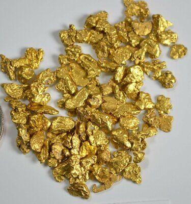 Alaskan Yukon Gold Rush Nuggets #30 Mesh 1Troy Oz 31.1 Grams