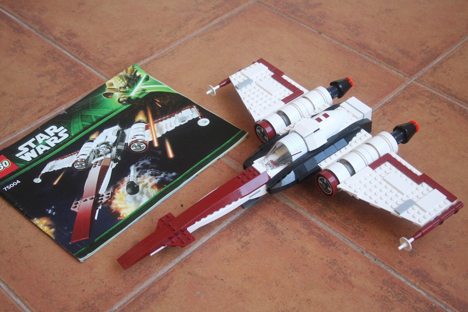LEGO Z-95 HEADHUNTER  SIN MINIcifraS CON INSTRUCCIONES  disponibile