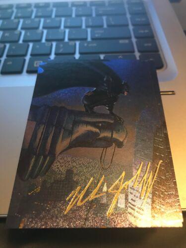 1995 BATMAN MASTER SERIES SPECTRA ETCH INSERT #5 BATMAN!!!