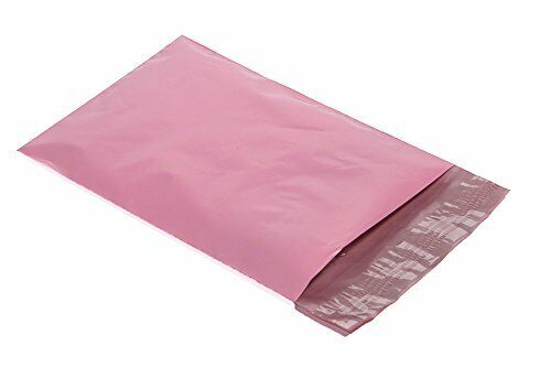 500 10x13 Poly Mailers Plastic Envelopes Shipping Mailing Bags Pastel Pink