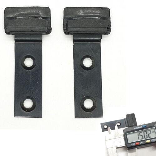 2 Pièces Pour BMW e46 toit ouvrant métal Crochet Planeur en absatnd 15 mm