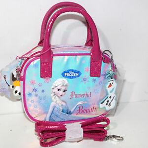 6e56fe6917 Caricamento dell'immagine in corso Borsa-Frozen-Disney -Round-hand-bag-Shinning-tracolla-