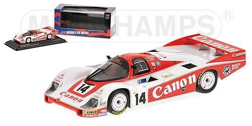 Porsche 956 Canon 24h Le Mans 1983 Palmer Lloyd Lammers 1 43 Model MINICHAMPS