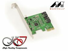 Controleur PCIE SATA 6GB HDD et SSD - 2 PORTS -  MARVELL 88SE9120-NAA2