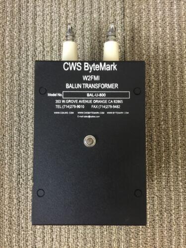 800:50 ohms 16:1 impedance Matching Transformer Jerry Sevick W2FMI Balun//Unun