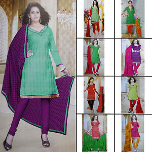 Readymade Straight Stitched Salwar Kameez Embroidered Suit Evening Party Wear