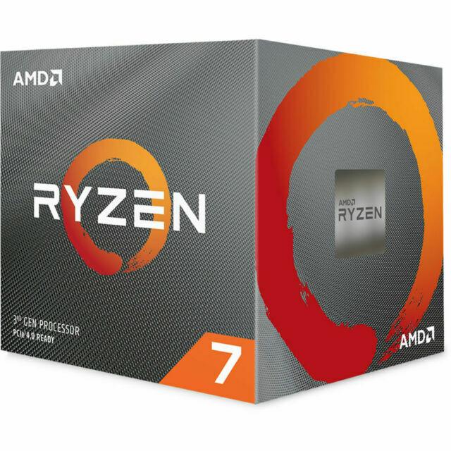 AMD Ryzen 7 3700X 8-Core, 16-Thread Unlocked Desktop Process