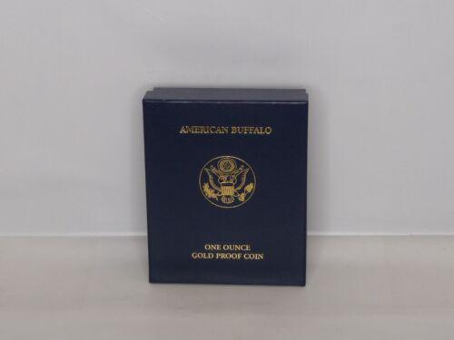 2007 American Buffalo One Ounce Gold Proof Coin Box /& COA *NO COIN*