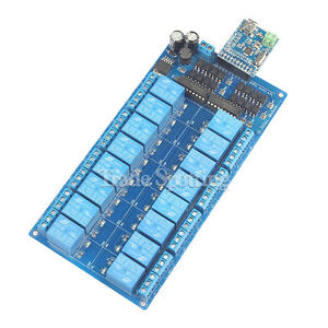 Details about 16 Channel 12V Relay Module Optocoupler Protection Power  Supply Arduino PIC DSP