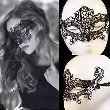 Women exy Lace Hollow Eye Face Mask Masquerade Ball Fancy Costume Dress m4