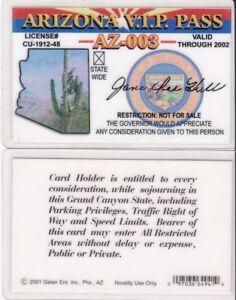AZ-VIP-ARIZONA-STATE-VERY-IMPORTANT-PERSON-id-card-Drivers-License