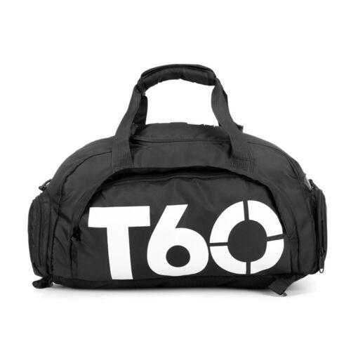GYM Sports Bag Duffle Fitness Backpack Yoga Swim Travel Shoulder Handbag Luggage
