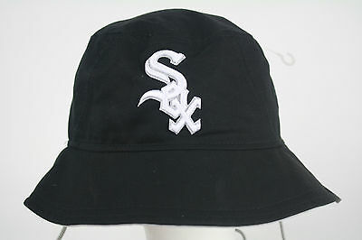New Era Bucket Hat Chicago White Sox Black-White  caps MLB Authentic