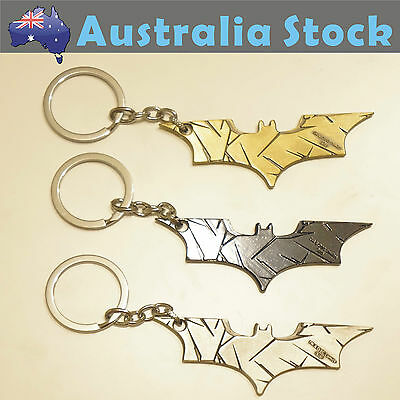 Batman SuperHero Metal keyring Keychain Key Ring Key Chain Super Hero 3 Colors