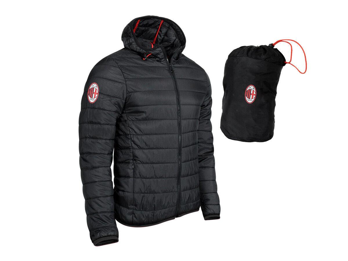 Giacca  Herren Ultralight AC Milan Nera Personalizzabile  PS 27871