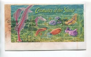 2005-Creatures-of-the-Shine-FDC-Ediacaran-fossils-Flinders-Ranges-SA-F-361